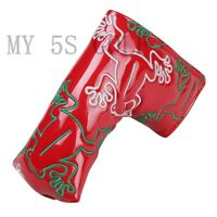 1pcs Golf Putter Head Cover Blade Frog Headcover for Odyssey Taylormade scotty