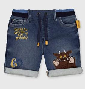 TU Denim Gruffalo Shorts 3-4 Years New