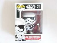 FUNKO POP VINYL | STAR WARS | FIRST ORDER STORMTROOPER 74 with FREE PROTECTOR