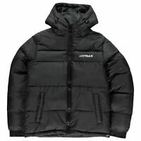 Airwalk Puffer Jacket Youngster Boys Coat Top Full Length Sleeve Hooded Zip
