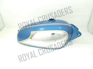 DUCATI 350CC SCRAMBLER BLUE PAINTED CHROMED PETROL TANK