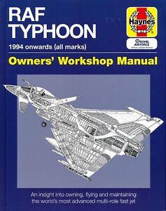 RAF Typhoon - 1994 onwards (all marks) - Owners' Workshop Manual (Haynes) - New