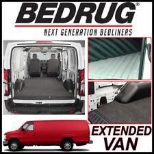 BEDRUG VanRug Cargo Mat Liner 2006-14 Ford E-350 Super Duty Extended Cargo Van