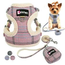 Adjustable Pet Harness Nylon Soft Breathable Stroll Small Dog Cat Leash Vest