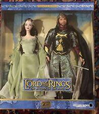 Lord of the Rings Aragorn & Arwen, Mattel, barbie, Ken NRFB Mint