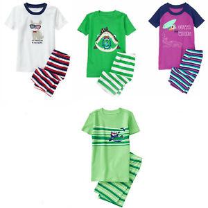 Gymboree Boy Short PJs Gymmies Pajamas Sleepwear 3 12 NWT Retail Store