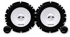 """Alpine Sxe-1750s de 6.5 """" 17cm 2 vías componente altavoces del coche 1 Set De 280 W"""