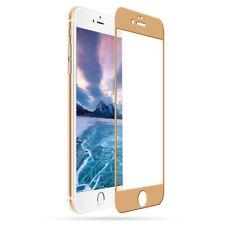 ^ 3D Schutzfolie Display HartGlas 9H Echt FULL FACE Samsung A6 Plus GOLD