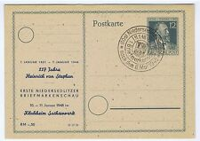 All.Bes./Gemeinsch.Ausg. Mi. P 965, priv.Zudruck  117 Jahre H.v.Stephan,Niederse