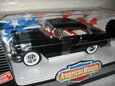 1955 CHEVROLET  BEL AIR BLACK RARE ERTL 1:18 LIMITED (1500)  NEVER OUT OF BOX!