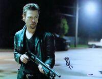 Brad Pitt Signed Autographed 11X14 Photo Killing Them Softly Shotgun PSA U47592