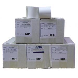 Kitchen Printer Grade Till Rolls 76 x 76  76x76 1 Ply Grade Rolls - 100 Rolls