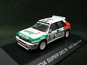 LANCIA SUPER DELTA 1993 WRC Monte Carlo Rally #5 A.Aghini 1:64 CM's