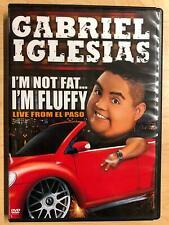 Gabriel Iglesias - Im not Fat Im Fluffy Live (DVD, 2009, Comedy Central) - G0412