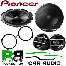 Pioneer AUDI TT 1998-2006 600 Watts Component Kit Front Door Car Speakers