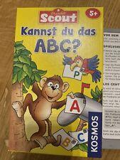 Spiel Scout Kannst Du das ABC ab 5 Jahre Vorschule Kindergarten