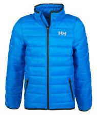 Helly Hansen Boys Blue School Jacket Coat Puffa Padded Windproof Water-repellent