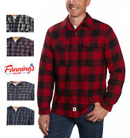 SALE! Boston Traders Mens Fleece Flannel Plaid Shirt *SIZE & COLOR VARIETY* B24