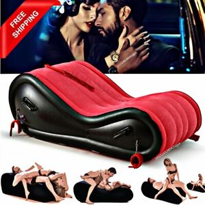 Moden Inflatable Air Sofa Adult Couple Love Game Foldable Outdoor Chair Handcuff
