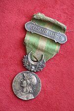 MARRUECOS decoración militar CASABLANCA plata cinta de época