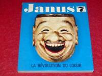 [BIBLIOTHEQUE H & P.-J.OSWALD] JANUS N° 7 1965  LA REVOLUTION DU LOISIR