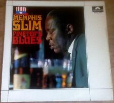 MEMPHIS SLIM pinetop's blues 1966 GERMAN INTERNATIONAL POLYDOR MONO VINYL LP