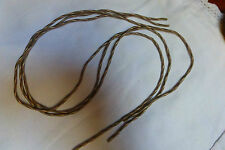 Lot  de 3 longueurs de gaine ressort en fil métal pour création bijou ANCIENNE