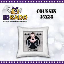 Coussin JUL personnalisé avec PRENOM  réf:COU-12 décoration chambre enfant