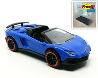 Majorette Lamborghini Aventador SV Roadster Blue 1:64 219G New no Package