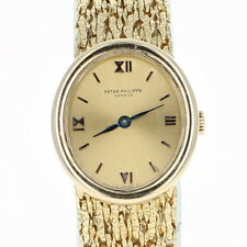 Patek Philippe Ladies Watch - 18k Yellow Gold Mechanical Movement 2Yr. Warranty