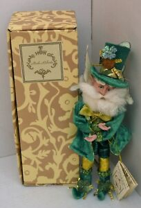 Mark Roberts Lucky Irish Fairy Elf  51-41844 W/ Certificate & Box