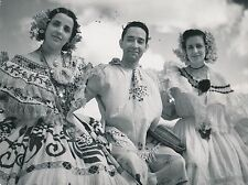 PANAMA CITY c. 1950 - Costumes Traditionnels  - GF 395