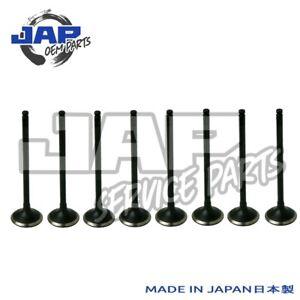 EXHAUST VALVE SET X 8 Toyota Starlet GT Turbo EP82 Glanza V EP91 4EFTE OE JAPAN