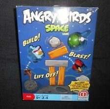 ANGRY BIRDS SPACE MATTEL 2012 BLOCK / CARD GAME 100% COMPLETE IN BOX KIDS TOY