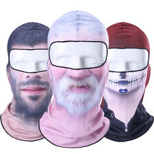 3D Real Face Balaclava Full Face Mask Winter Snowboard Motorcycle Ski Halloween