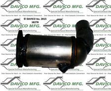 Catalytic Converter-Exact-Fit Front Left Davico Exc CA fits 02-03 Jaguar X-Type