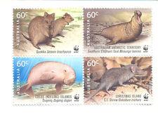 Australia-WWF mnh 3636a Wildlife set(2011)