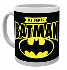 DC Comics My Dad is Batman Superheroes Cup Tea Coffee Mug Mugs