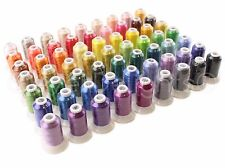 New 63 Brother Colors Polyester Embroidery Machine Thread Set - 550 Yds - 40 Wt
