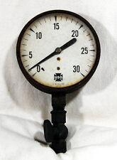 USG Gauge Co Pressure GAUGE 1O773-1 Valve Industrial Steampunk Rat Rod Vintage