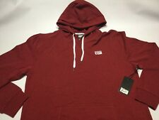 $75 Asics Men's Onitsuka Tiger Prevail Pullover Hoody In Burgundy Size XL