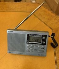 Rare Tecsun PL-747 Synthesized Stereo World Receiver,RX-Range FM, MW, SW1, SW2.