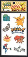 Pokemon Temporary Tattoos by artbox - RARE