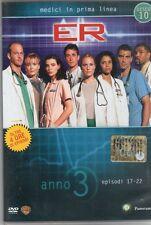 DVD=ER MEDICI IN PRIMA LINEA=ANNO 3=EPISODI 17-22