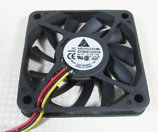 Delta EFB0612HHA 60x60x10mm 60mm 6010 12V 0.18A DC Cooling Fan 3pin Connectors