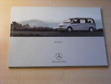 25487) Mercedes V-Klasse Polen Prospekt 2000