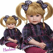 Adora Dolls Mad About Plaid Charisma Dolls, Vinyl and Cloth Baby Doll