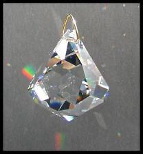 Brilliant Swarovski Crystal Dreidel Top Sun Catcher 50mm