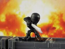 Hasbro Micro Force G I JOE SNAKE EYES Mini Figure Cake Topper K1015_B