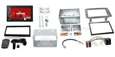 LANCIA MUSA 04-12 2-DIN radio de voiture USD SD IPHONE ANDROID Cache anthracite